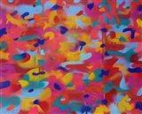 Abstract Camo 2 Art Print