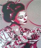 Marble Geisha Art Print