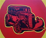 Muscle Car 3 Art Print