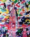 New York Camo Art Print