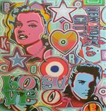 Pop Mix Art Print
