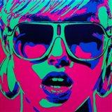 Pop Star 1 Art Print