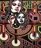 Three Heads Art Print
