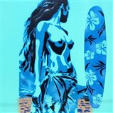 Tiki Surf Art Print