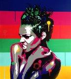 Afro Punk 1 Art Print