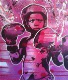 Boxer Kid 1 Art Print