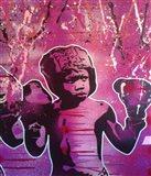 Boxer Kid 2 Art Print