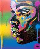 Kiss Series 2 Rainbow Art Print