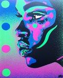 Kiss Series 2 Spots Art Print