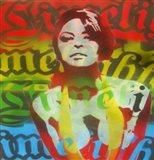 Limelight Woman Art Print