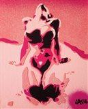Pink Nude Art Print