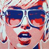 Pop Star 3 Art Print