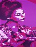Purple Geisha Art Print