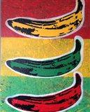 Rasta Banana Art Print
