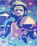 Boxer Star 2 Art Print