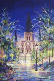 Fantasy St Louis Cathedral Art Print