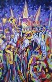 Jackson Square Jammin Jazz Art Print