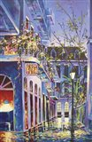Pirates Alley Cafe Spring Art Print