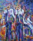 Dixieland Jazz Band Art Print