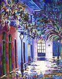 New Orleans Alley Royal St Art Print