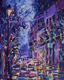 New Orleans Alley Art Print