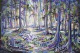 Swamp Bird Art Print