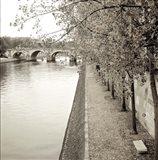 Promenade Seine II Art Print