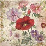 French Garden Art Print