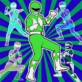 Power Ranger 1 Art Print