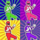 Power Ranger 2 Art Print