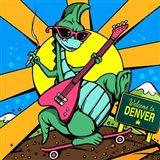 Denver Dinosour 1 Art Print