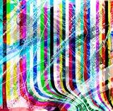 Pop Curtain Art Print
