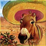 Fiesta Mule Art Print