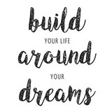 Build Your Life Art Print