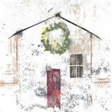 Christmas House Art Print