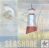 Coastal Beacon II Art Print