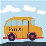 Bus Baba Art Print