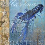 Lobster and Sea Art Print