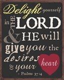 Psalm Saying I Art Print