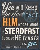 Psalm Saying II Art Print