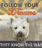Dog Days - Pek Pup Art Print