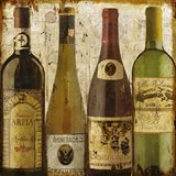 Wine Samples of Europe I Art Print