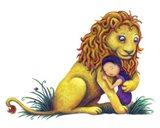 Sweet Lion Art Print