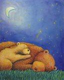 Goodnight Bear Art Print