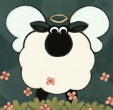 Holy Sheep Art Print
