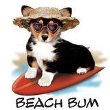 Beach Bum Art Print