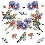 Warblers Art Print