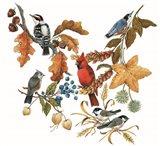 Fall Birds Art Print