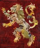 Lion Crest Art Print