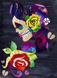 Sad Skull Art Print